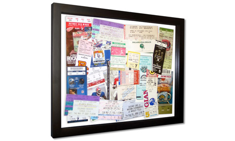 Do-It-Yourself: Custom Frames Filled with Concert Memories