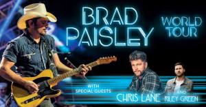 Brad Paisley World Tour