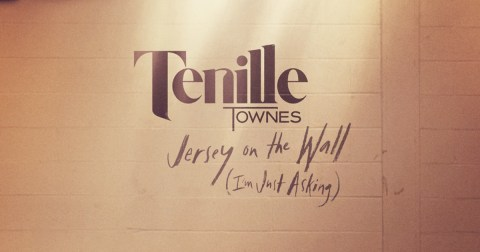 Tenille Townes Jersey On the Wall