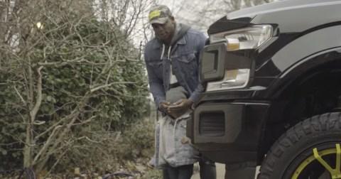 Jimmie Allen Boy Gets A truck