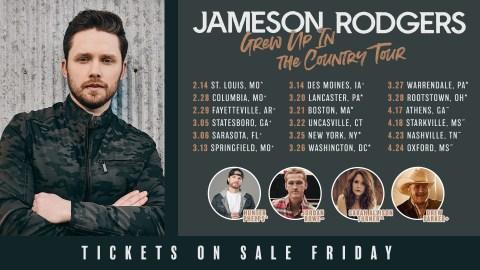 Jameson Rodgers Tour