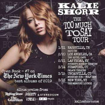 Kalie Shorr Tour