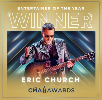 2020 CMA Awards Entertainer of the Year, Eric Church