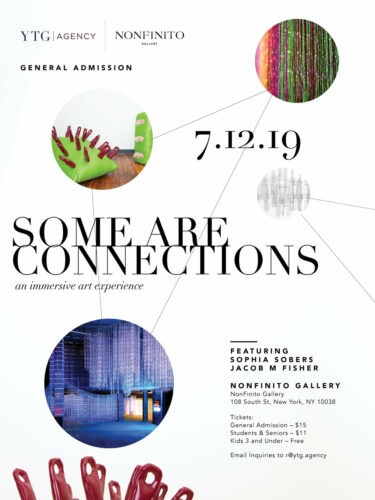 *DISCOUNT* Some Are Connections Immersive Art Experience- Friday July 12th- Sunday August 11th