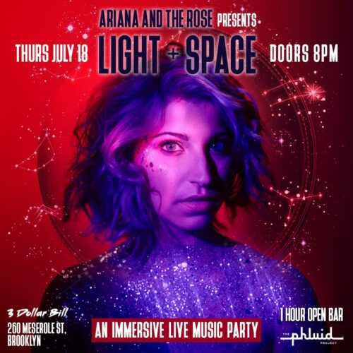 Immersive Live Music Party 'Light + Space' – Thursday July 18th