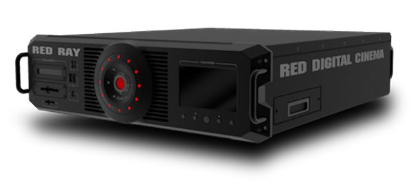 Red's Red Ray laser projector prototype