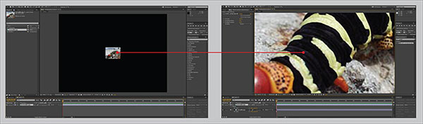 Adobe says After Effects CC preserves detail and sharpness allowing you to upscale footage for new higher resolution delivery formats.