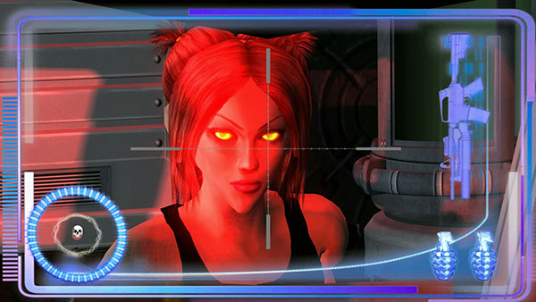 The character Red Sophia brings an edge to what at first looks like just another video game.