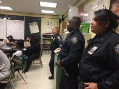 Workshop with 20th Precinct