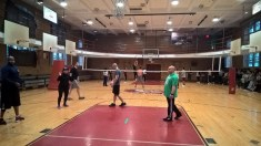 Volleyball with the 102 Precinct