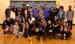 19th Precinct Celebrates TUT with Manhattan International High School