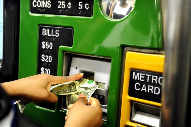 metrocard machine