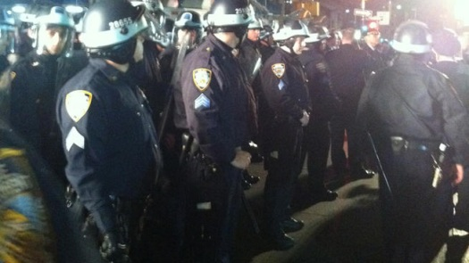nypd riot gear