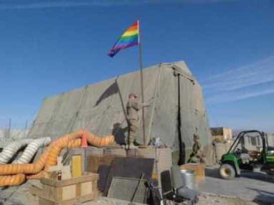 Gay Flag Afghanistan