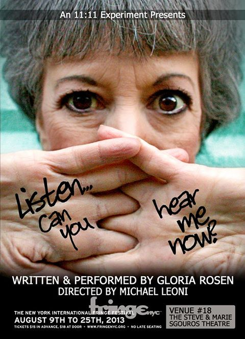 listen can you hear me now gloria rosen