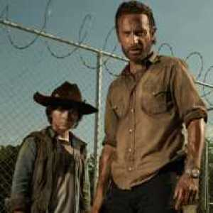 rick and carl walking dead