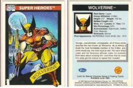 Wolverine-Card