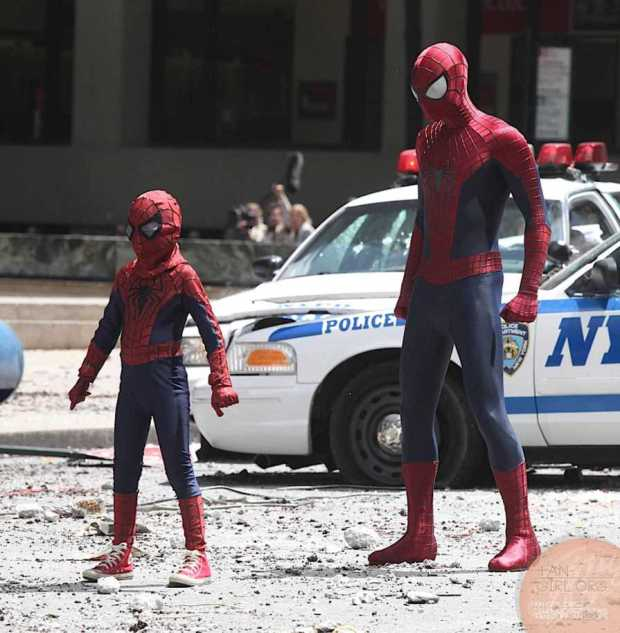 spidey and kid
