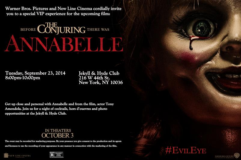 Annabelle Release Party