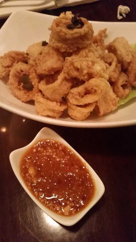 mint's thai kitchen calamari