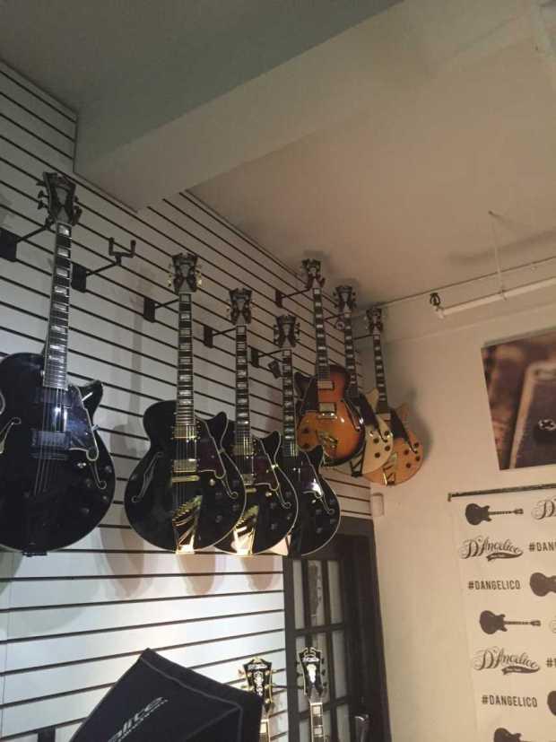 Jessica Lynn Dangelicos guitars