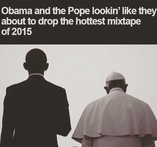pope and obama mixtape