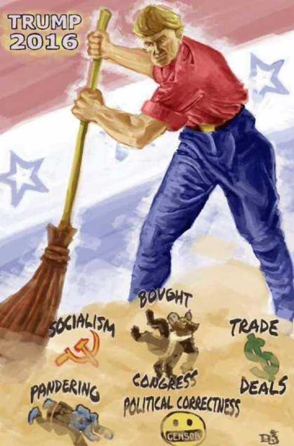 donald trump sweep