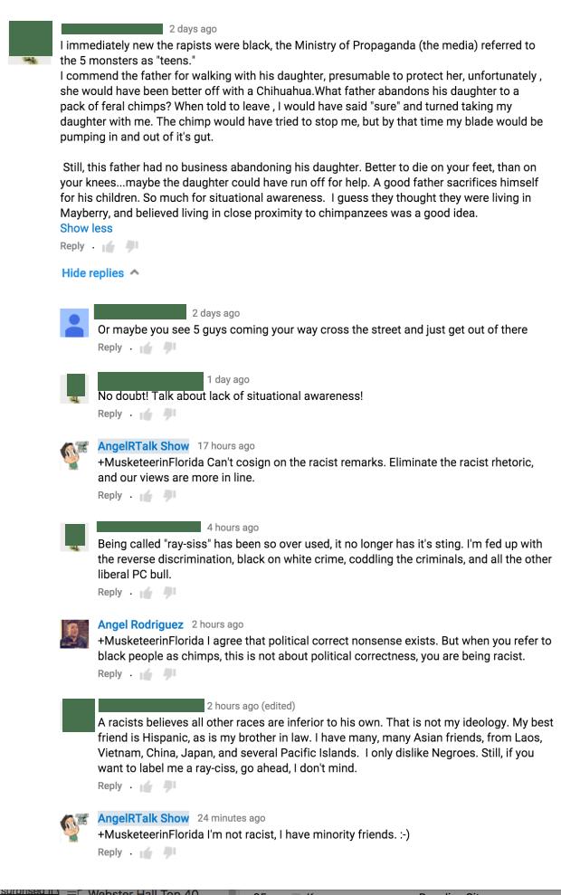 youtube racism