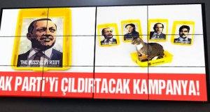 Erdoğan, 'diktatör temalı' kedi tuvaletlerinin yüzü oldu!