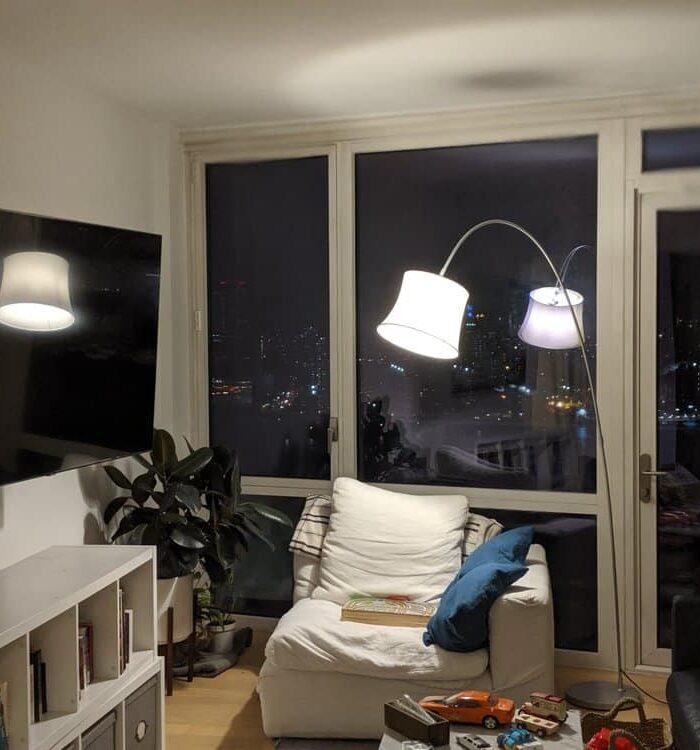 Nice wall mounted TV