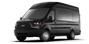 14 PASSENGER FORD HIGHTOP VAN