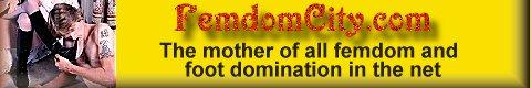 FemDom City banner for Elena De Luca's links page