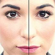 applying-false-eyelashes
