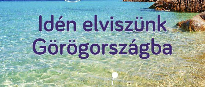 Nyerj 2 fős nyaralást Görögországba
