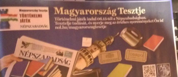 Indul a Magyarország tesztje történelmi játék