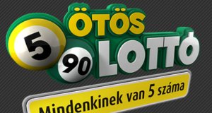 ötös lottó nyerőszámai