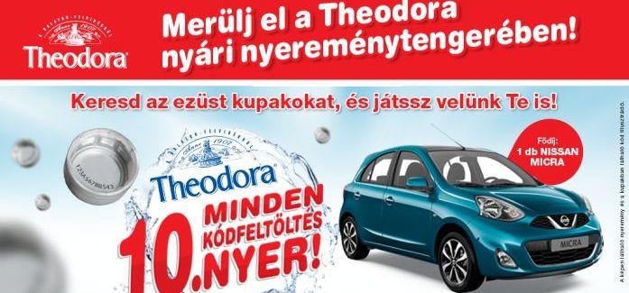 Merülj el a Theodora nyári nyereménytengerében!