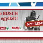 Játssz és nyerj Bosch robotgépet a Rama-val!