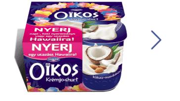 Danone Oikos nyereményjáték - Játssz és nyerjnapi, heti nyereményt vagy a fődíjat,egy utazást Hawaiira!