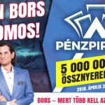 Kaparj és nyerj - itt a Bors Pénzpiramis nyereményjátéka