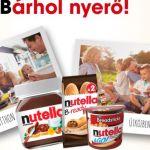 Nutella nyereményjáték - itt a Bárhol nyerő játék: játssz és nyerj!