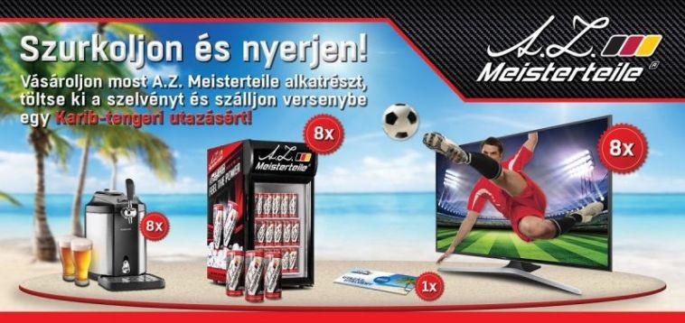 A.Z. Meisterteile VB nyereményjáték - nyerj Karib-tengeri utazást