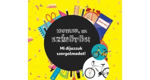 Auchan nyereményjáték - nyerj biciklit az ötösökkel