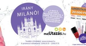 Vöslauer nyereményjáték - Irány Milánó