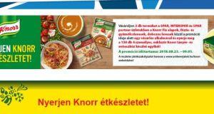 Nyerjen Knorr étkészletet! Itt a Knorr nyereményjáték.