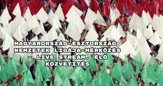Magyarország-Észtország Nemzetek Ligája-mérkőzés – live stream, élő közvetítés