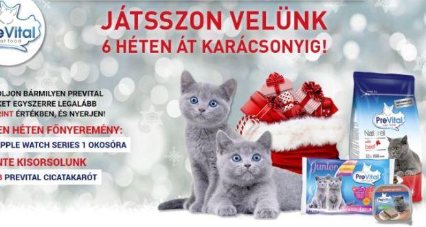 Prevital nyereményjáték - Játsszon velünk Karácsonyig!