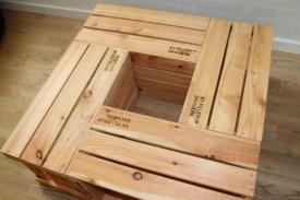kasser af lærketræ
