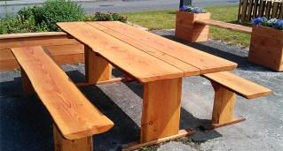 Bord og bænkesæt til haven