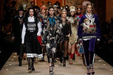 Dolce&Gabbana Fall Winter 2018_19 Women's Fashion Show